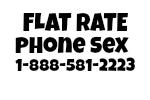 Flat Rate Phone Sex