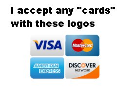 Hushes Accepts All Major Credit Cards